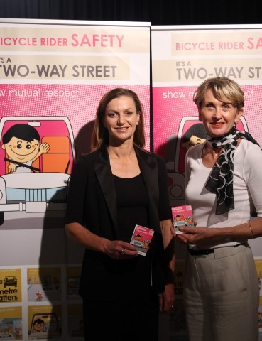 Tracey Gaudry and Wendy Machin