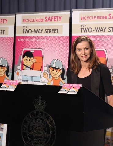Amy Gillett Foundation CEO Tracey Gaudry