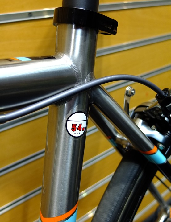The frames are now made using custom butted size specific tubing ensuring parity in stiffness across the size range
