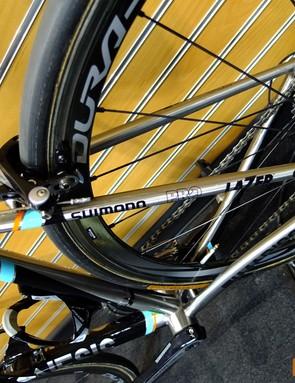Team bikes will also run Dura Ace C35 tubular wheels