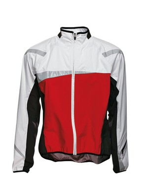 The B'twin is by far the cheapest jacket in the group test