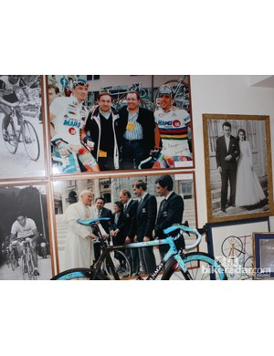 At 82 years old, Ernesto Colnago has enjoyed quite a life with many people, from world champions to the Pope to his wife of more than 50 years
