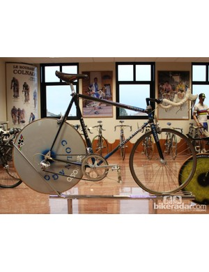 Italy won the world team time trial championship in 1990 with these bikes
