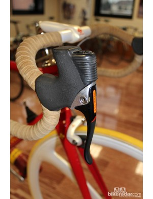 Colnago hydraulic brake levers never made it to market —until the recent collaboration with Formula