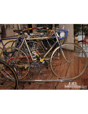 The first bike of Ernesto Colnago, as restored and somewhat recreated by the company