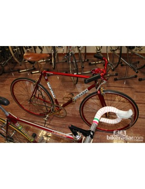 Not every bike in the Colnago museum hails from road or track racing