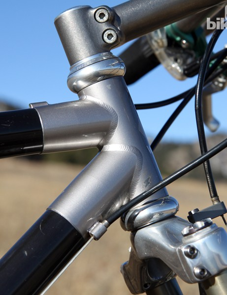 If you look closely, you can see how the lugs are externally machined to give the ends an elegant taper