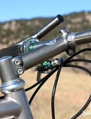 While most other stems in its day were made of aluminum or steel, Specialized was making these stems from cast titanium. They were light and pretty but also frighteningly flexy