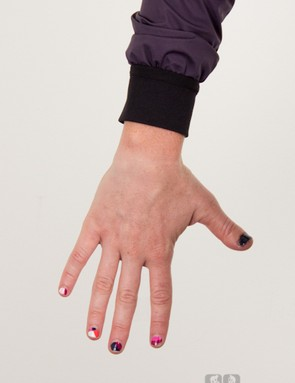 Narrow arms require small sleeves and tight wrist cuffs. Men's jackets just don't compete in this area
