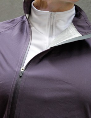 The angle of the main zip adds to the unique and stylish appeal of the jacket. It also helped the jacket keep its shape when unzipped for extra airflow