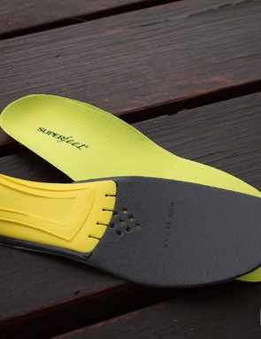 Superfeet Yellow Insole - ready to be cut to fit
