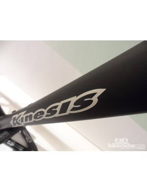 The Kinesis Scandium R915-1 road frameset is made from Scandium-infused alloy