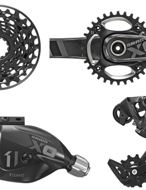 SRAM X01 DH downhill specific groupset