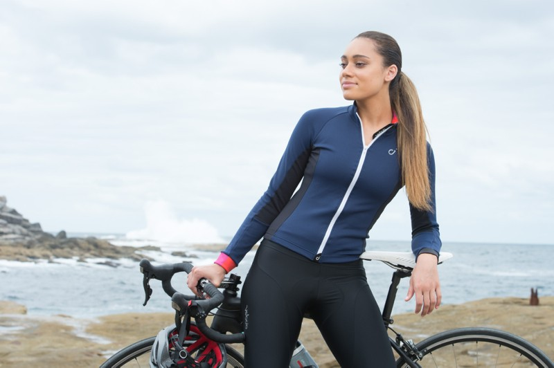 Velocio also does wool pieces, like this Long Sleeve