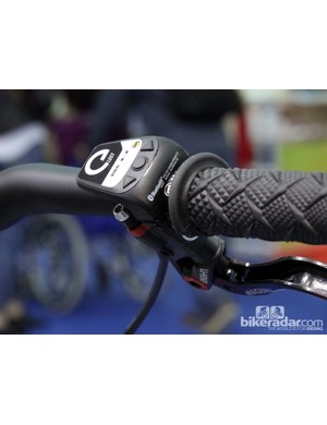 Magura intends for eLECT rear shocks and forks to be used as a matched pair with the former receiving terrain information from the latter. A new Bluetooth remote will also allow riders to manually control both simultaneously