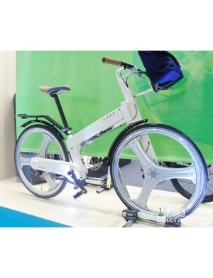 Pacific cycles Mode folding bike