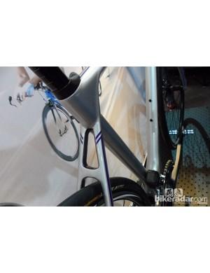 Closer look at the Axman road disc bike