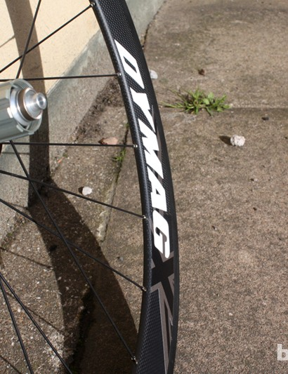 This pair tipped the BikeRadar scales at a single gram over the claimed weight of 1,625g