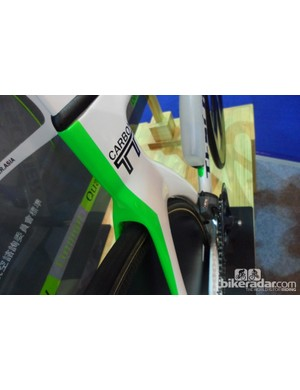Teschner took care to ensure the HF51 is still UCI compliant