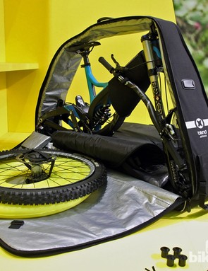 Biknd has introduced a lower-cost alternative to its fantastic Helium bike case. The Jetpack may be cheaper but it's no less clever - and it's more accommodating of mountain bikes, too