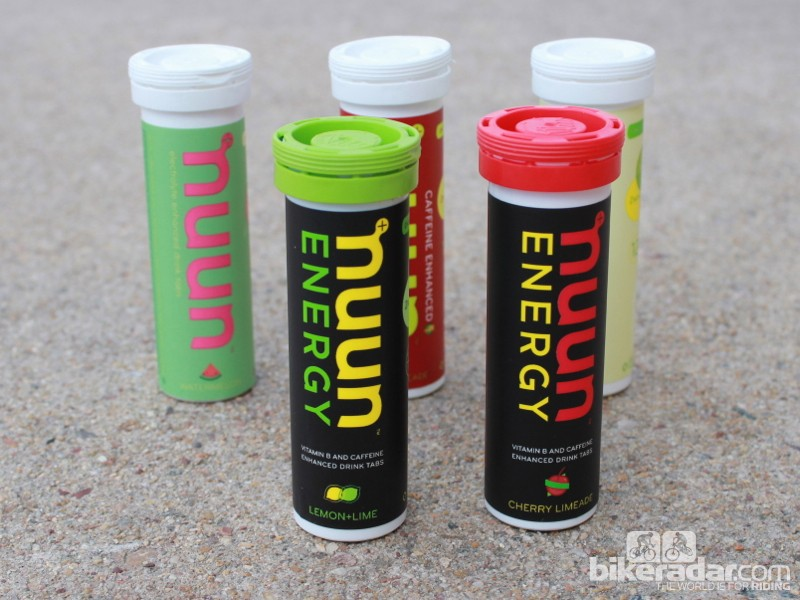 Nuun Energy adds caffeine to the electrolyte tablet