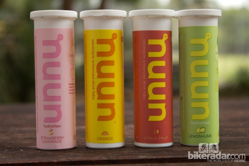 Nuun comes in 11 flavours – we tried Pink Lemonade, Orange, Citrus, and Lemon Lime