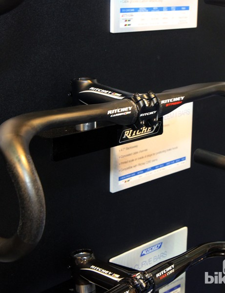 The new Ritchey WCS Carbon Streem II road bars feature a shallow, semi-anatomic drop and aero-section tops