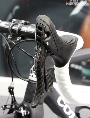 Campagnolo says the levers have been slightly reshaped in response to pro rider feedback