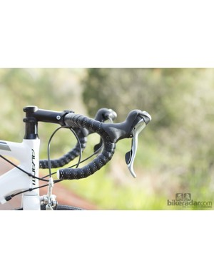 These Zero handlebars feature on both the Malvern Star and the Avanti - we didn't get along with the long-reach shape