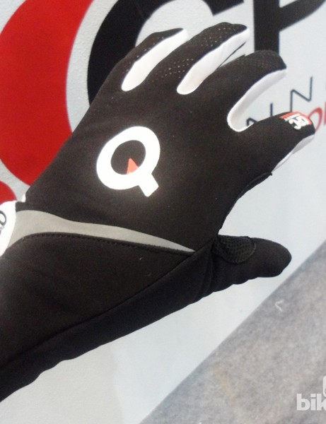 The outer of the winter glove has large Scotchlite details for night-time visibility