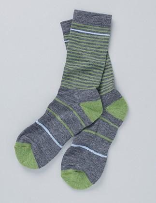 Vulpine merino mid sock