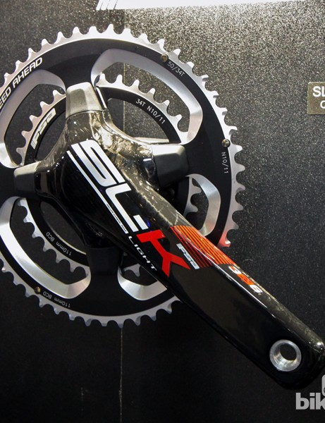 FSA will offer the new four-arm SL-K Light cranks in both 386 EVO and standard BB30 versions