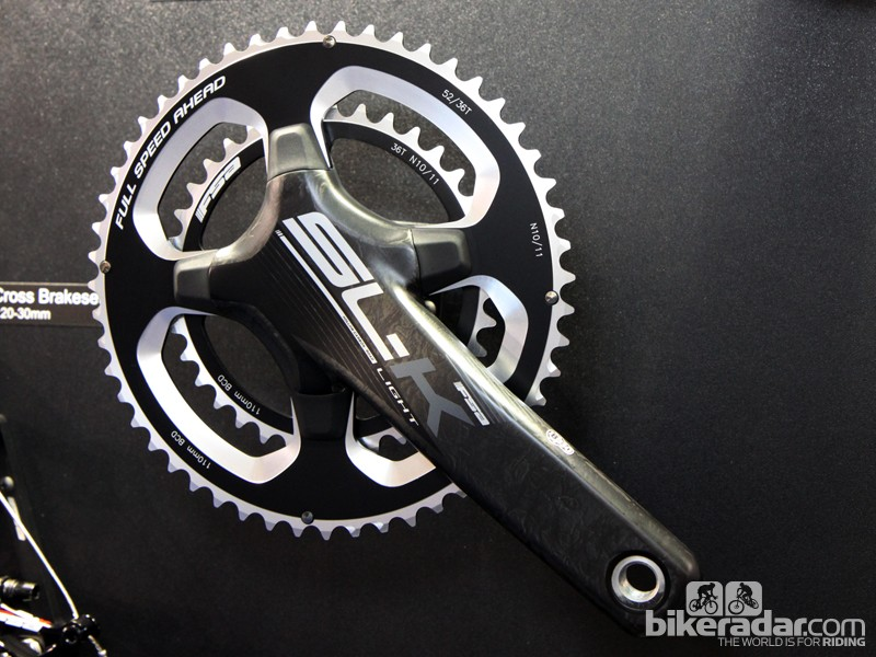 FSA has trickled down its proprietary four-arm chainring pattern to the SL-K Light range for 2015