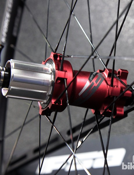 The K-Force Light MTB and SL-K MTB wheels will use the same cartridge bearing hubset, but will differ in spokes and nipples