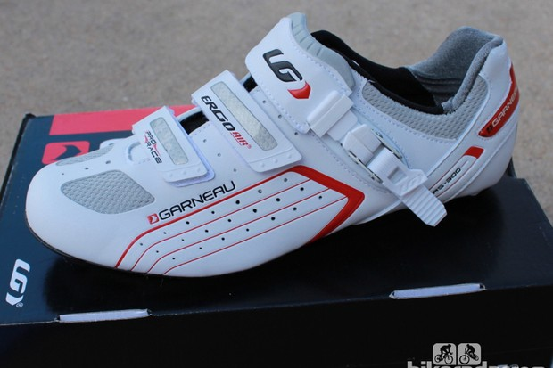 Our size 45 sample of the Louis Garneau Pro Race weighed 308g