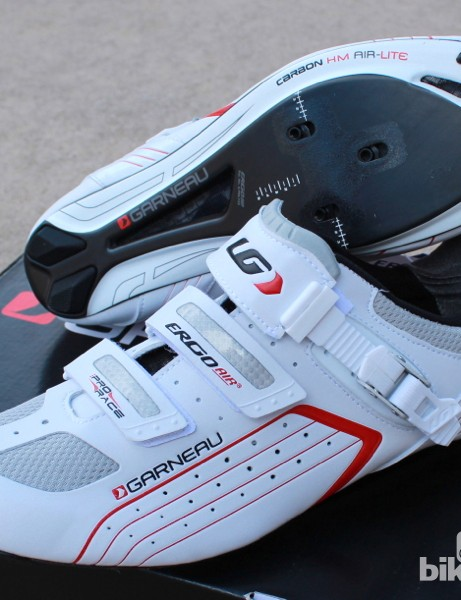 Besides the venting, the Pro Race shoes offer adjustability at the cleats and at the upper strap