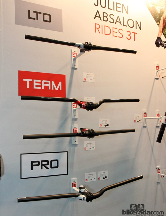 3T has revamped its mountain bike handlebar range with new bends and more generous widths