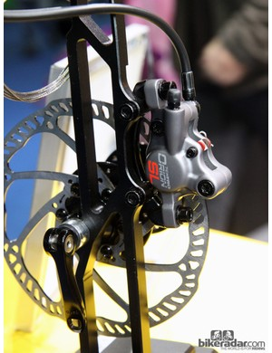 Claimed weight for the Tektro Orion SL hydraulic disc brake is 400g per wheel for a complete post mount setup
