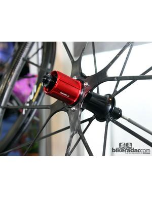 Gigantex uses Chosen hub internals for many of its wheels