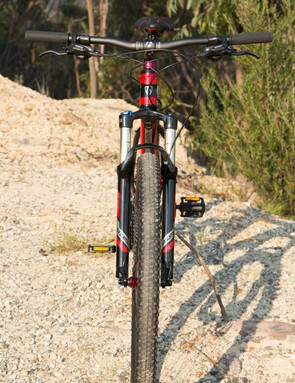 The X-Caliber 7 offers balanced handling that easily shines on and off the trail