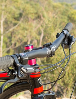 Bontrager (a Trek owned brand) supply its components. These parts are always well-suited to the category
