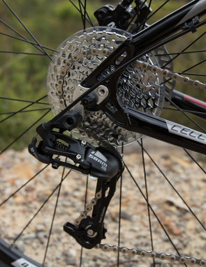 The Stromlo 2.0 is the only bike on test to offer 10-speed shifting and we immediately appreciated the improved shift quality and gear range