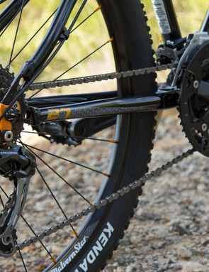 After the Cell, the Malvern Star Switch 27.7 has the best parts. A Shimano Deore rear derailleur offers precise and reliable shifting