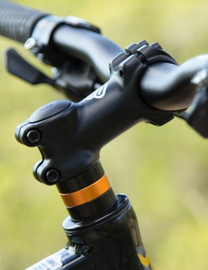 The Malvern Star Switch 27.7 arrives with a very high handlebar position; you'll want to lower this to get the most out of it