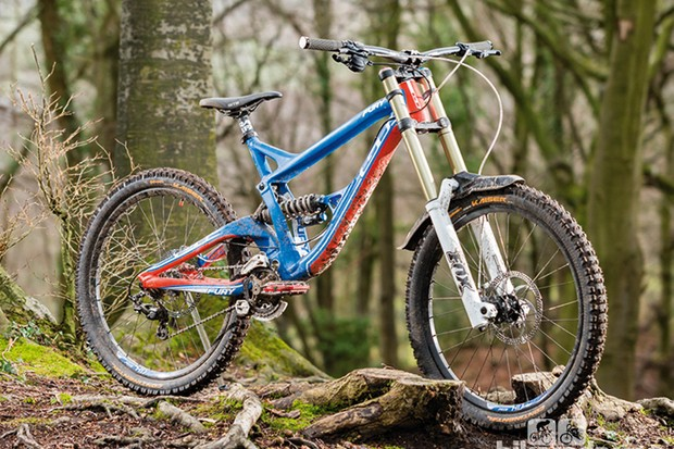 The new frame is longer, lighter and alloy, not carbon