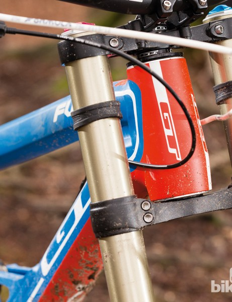 Geometry changes include a slacker head angle (63 degrees). The most notable difference is a much longer front end – our medium frame measured 795mm from bottom bracket to front axle, giving a wheelbase of 1,240mm