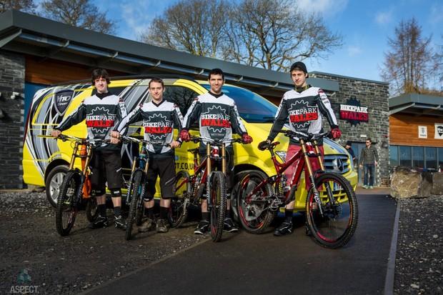 BikePark Wales race team announced