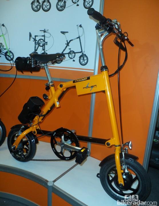 E-Bikes don't come much smaller or stranger than this Nanoo Power