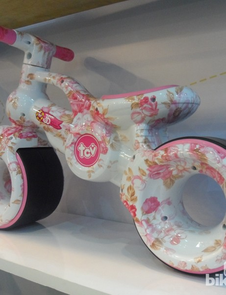 …and flowery pink for girls