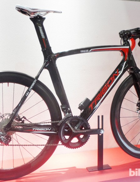 Trigon's TR235 aero road disc bike